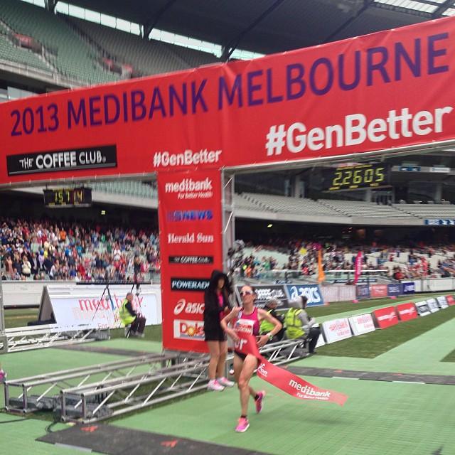 Lisa Weightman Outstanding Aussie Performances in Melbourne Marathon Outstanding Aussie Performances in Melbourne Marathon lisa w