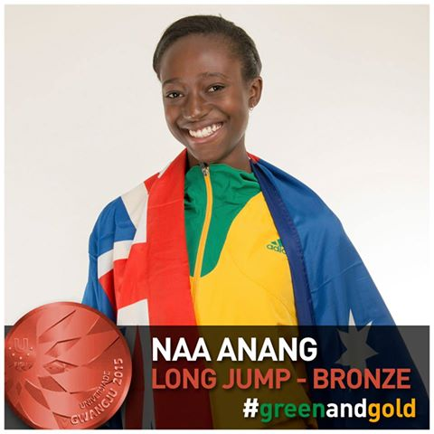 Naa Anang wins Bronze at the 2015 World University Games #GWANGJU2015 – Day 2 of World University Games #GWANGJU2015 – Day 2 of World University Games 11703099 10153483985834301 6556493269248526660 n