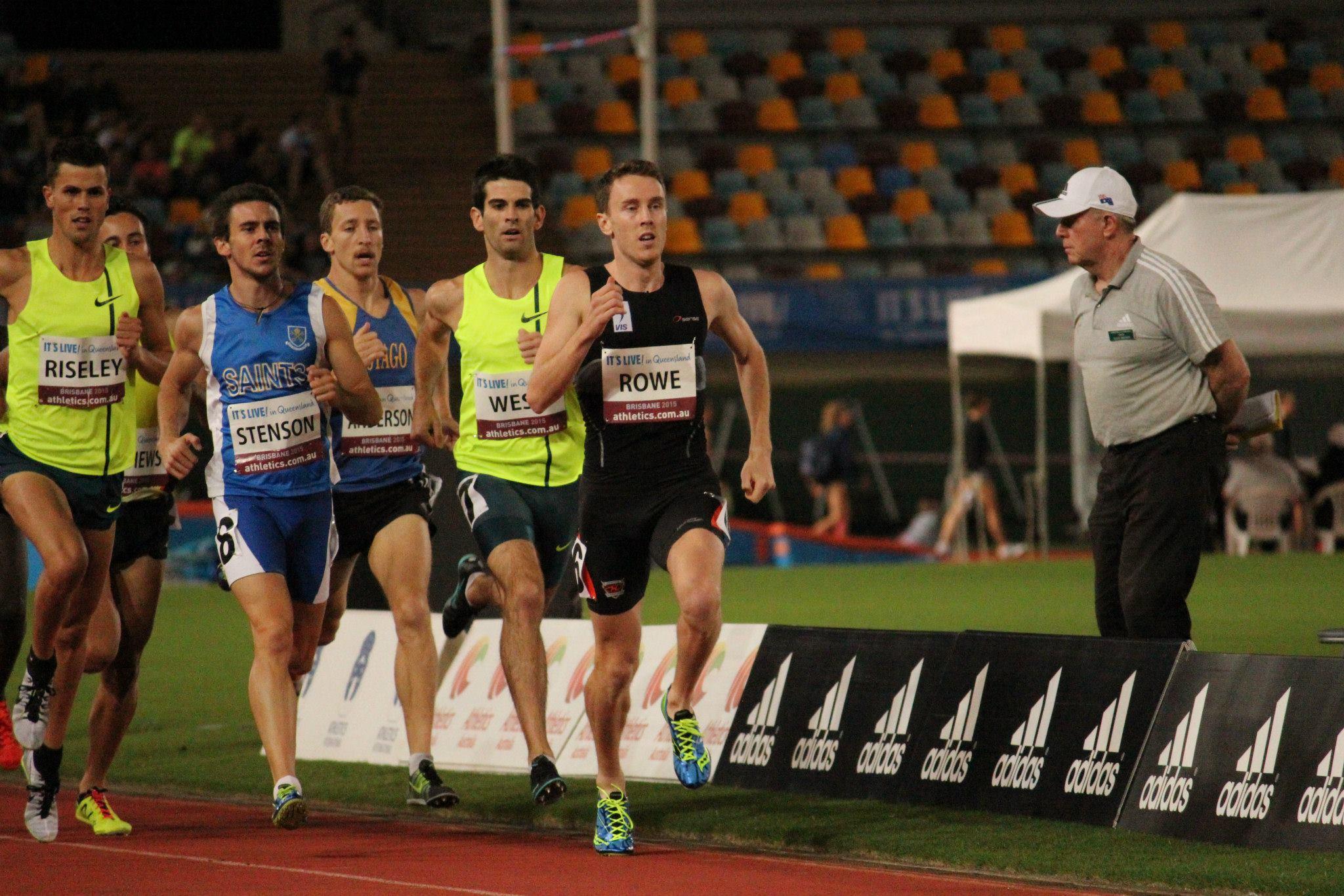 Alex Rowe at the 93rd Australian Athletics Championships