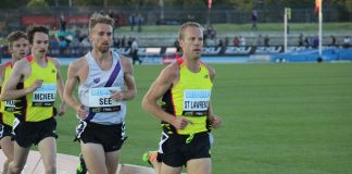 Ben St Lawrence at the 2015 IAAF Melbourne World Challenge