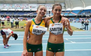 Clara Smith and Jemima Montag