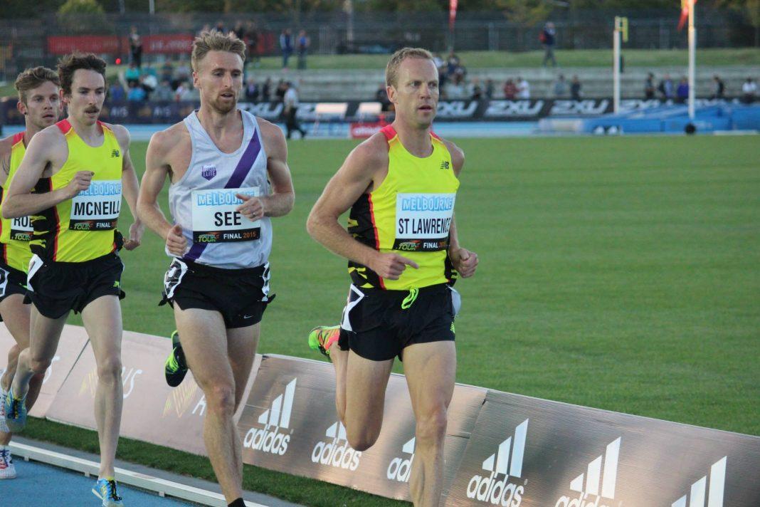 Ben St Lawrence at the 2015 IAAF Melbourne World Challenge