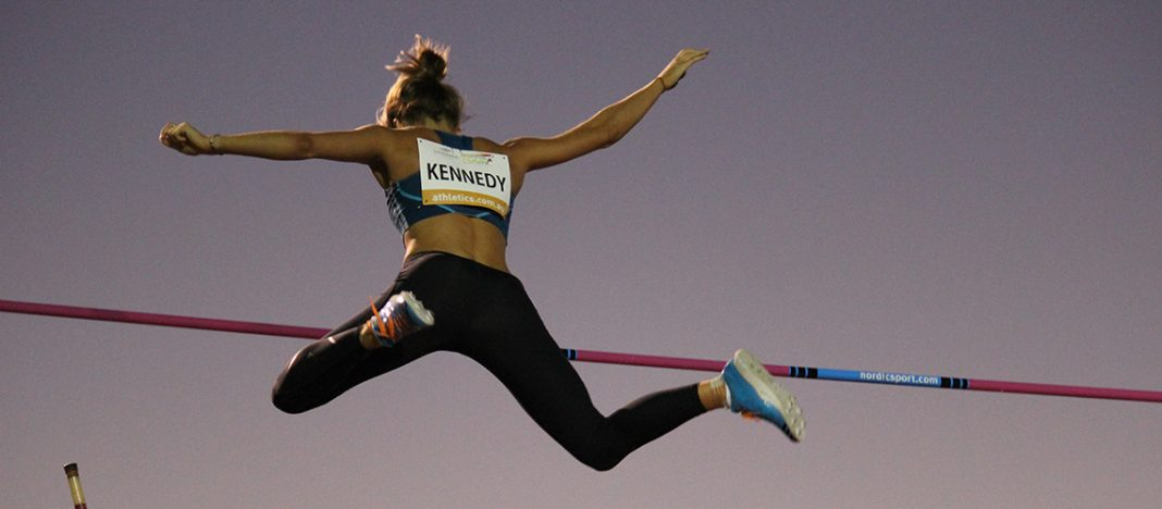 Nina Kennedy at the 2015 Jandakot City Track Classic