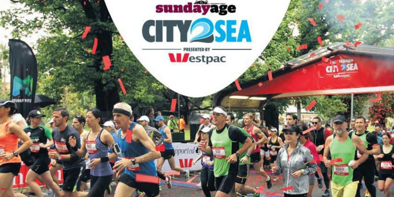 Sunday Age City2Sea presented by Westpac.