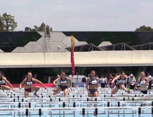All Schools T&F Championships – Danielle Shaw 100m Hurdles