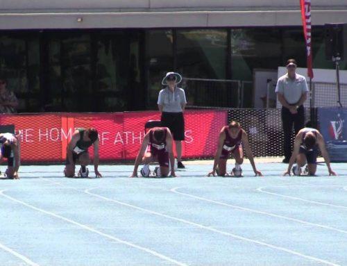 All Schools T&F Championships – Jack Hale 100m Final