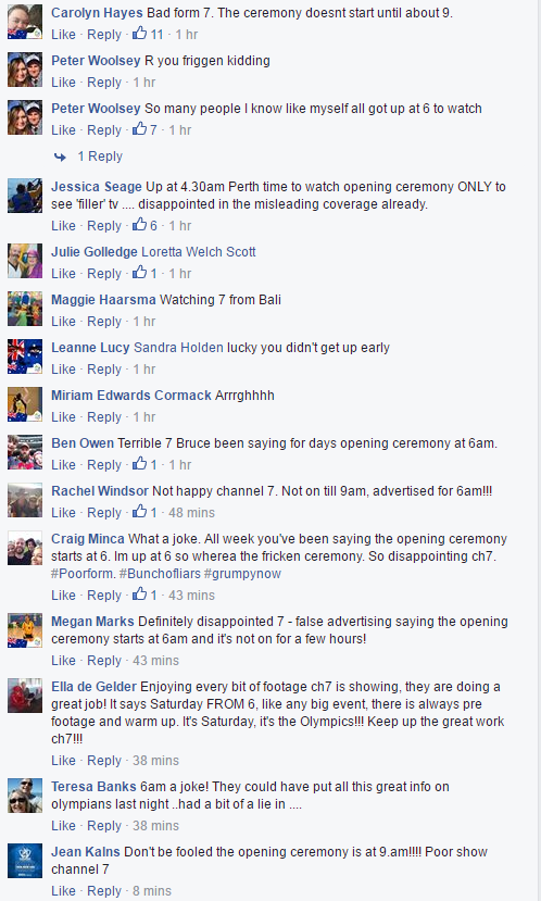 Channel 7 Channel 7 Fans Furious with Channel 7 Already Channel 7