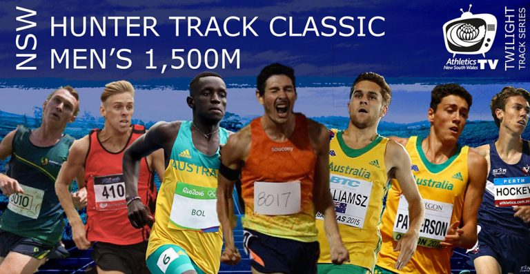 Olympic Talent at this Years Hunter Track Classic