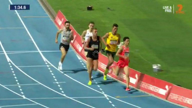 Round 1: Nitro Athletics Men's 1 Mile Elimination