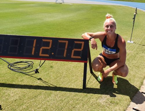 Liz Clay Runs Second Olympic Qualifier in Canberra